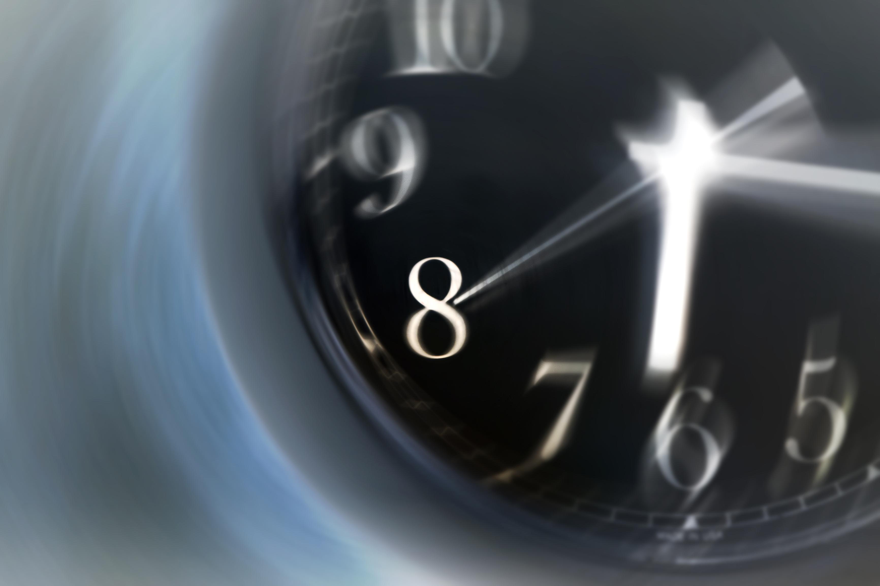 Horloge en mouvement - Notaire Contrecoeur