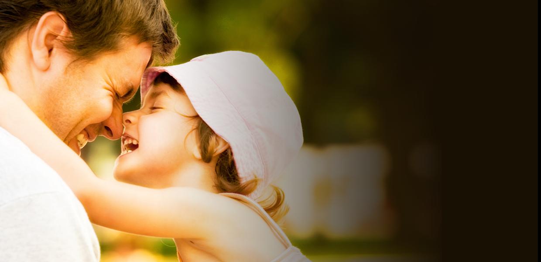Père et fille heureux - testament - Notaire Contrecoeur